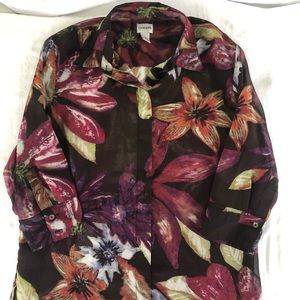 Chico's blouse .. size 2..0075